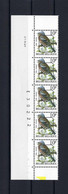 N°PRE834 H3 Buzin Drukdatumstrook 21.XII.89 Paar MNH ** POSTFRIS ZONDER SCHARNIER SUPERBE - 1985-.. Pájaros (Buzin)