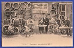 BELLE ET RARE CPA 61 ALENCON - Fabrication Des Increvables FLEURY - Alencon