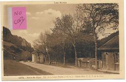 LUS LA CROIX HAUTE - ( Drôme ) - COL DE LA CROIX HAUTE -CHALET ABRI TCF ET LA GARE - - Otros Municipios