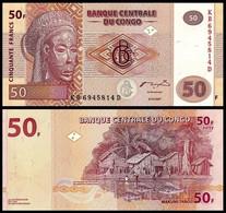 CONGO - 91 - 50f (50 Francs) - 2007 - Sin Clasificación