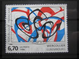 """VEND BEAU TIMBRE DE FRANCE N° 2986 , OBLITERATION """" PARIS - R. DU LOUVRE """" !!! (a) - Used Stamps"""