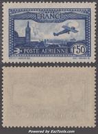 1f50 Avion Survolant Marseille Neuf ** Sans Charnière TB (Y&T N° 6 , Cote 47€ ) - 1927-1959 Nuovi
