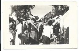 Les COLONIES - CARTE PHOTO 1958 LAOS - Marché De Savannakhet - Laos