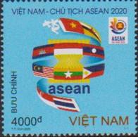 VIETNAM, 2020, MNH,ASEAN, FAGS,1v - Altri