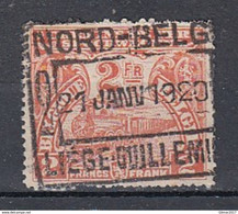 Tr 95 Gestempeld Nord Belge Liege-Guillemins - Nord Belga