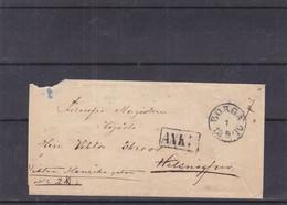 Finlande - Lettre De 1870 - Oblit Borga - Exp Vers Helsingfors - Cachet ANK - Covers & Documents