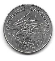 Gabon. 100 Francs 1972 (625) - Gabon
