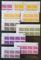 LOT - 10 COINS DATES - MARIANNE DE LAMOUCHE. Neuf ** - 2000-2009