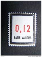 FICTIFS NEUF ** N°F160 SANS CHARNIERE (FICTIF F 160) - Phantomausgaben