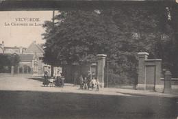 VILVORDE - 1909 - La Chaussee De Louvain - Vilvoorde