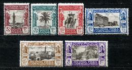 Z2331 ITALIA COLONIE LIBIA 1928, Seconda Fiera Di Tripoli, Serie Completa, MH*, Valore Catalogo Sassone € 50, Ottime Con - Libya