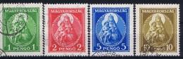 Hungary: 1932 Mi Nr 484 - 487 Used - Usati