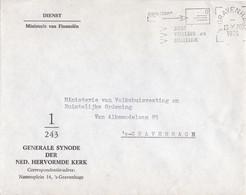 Nederland - Dienstenveloppe Ministerie Van  Financiën - Generale Synode Der Ned. Hervormde Kerk - Dienstnummer 1/243 - Postal History