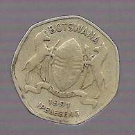 Lot De 4 Pièces : Botswana, Pologne, Maurice, Afrique De L'ouest (756) - Kilowaar - Munten