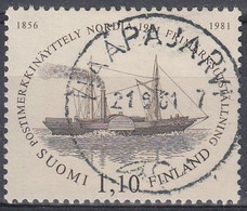 FINLANDIA 1981 Nº 844 USAD0 - Gebraucht