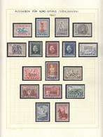 Nord Epirus(Sud Albanien) 1940/41 - Allee Ausgaben Komplett, 45 Werte, MNH** (3 Scan) - North Epirus