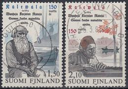 FINLANDIA 1985 Nº 919/20 USAD0 - Gebraucht