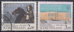 FINLANDIA 1990 Nº 1072/73 USADO - Gebraucht