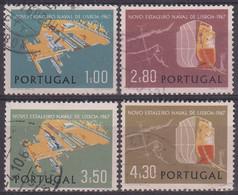PORTUGAL 1967 Nº 1017/20 USADO - Used Stamps