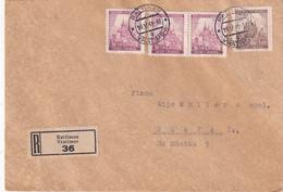 BOHEME ET MORAVIE   1941  LETTRE RECOMMANDEE DE RATTIMAU - Covers & Documents