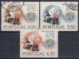 PORTUGAL 1968 Nº 1038/40 USADO - Used Stamps