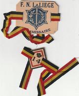 ARMEE BELGE - Brassards En Carton Des Anciens Combattants - 1939-45