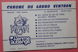 88 VENTRON – CHAUME DU GRAND VENTRON - Andere