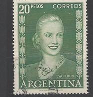 Argentina - 1952 - Usato/used - Evita Peron - Mi N. 609 - Used Stamps