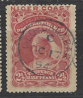 Niger Coast Oil Rivers - 1894 - Usato/used - Queen Victoria - Mi N. 18 - Nigeria (...-1960)