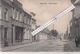 """CAPPELLEN-KAPELLEN """"STATIESTRAAT RICHTING CENTRUM""""HOELEN N°4464 UITGIFTE 1909 TYPE 5 - Kapellen"""