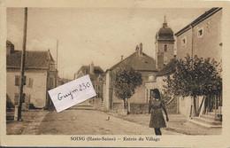 SOING  Entrée Du Village - Andere Gemeenten