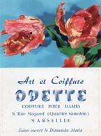 V12 65Sb   Calendrier Poche N°1 De 1963 Art Et Coiffure Odette 9 Rue Magaud Quartier Samatan Marseille - Small : 1961-70