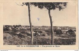 Ile De Noirmoutier. Vue Générale Du Village De L'EPINE. - Ile De Noirmoutier