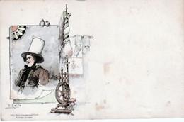 PERSONNAGE. AU. ROUET. -  CPA.   SIGNÉE. F. REIFS  ( 20 / 12 / 380. ) - Other Illustrators