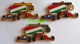 F1  BUDAPEST 95 1995 WILLIAMS RENAULT  FERRARI LOT De 3 PINS DIFFERENTS En ZAMAC - F1