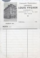 "Nederland Blanco Nota ""Louis Vyghen Valkenburg"" (220) - Non Classificati"