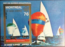Equatorial Guinea 1976 Olympic Games Minisheet MNH - Guinea Ecuatorial