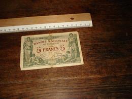 1 Bankbiljet  -- ( Ismo 27 ) - 5 Francs
