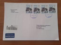 Lithuania Litauen Cover Sent From Venta To Siauliai 2010 - Lituania
