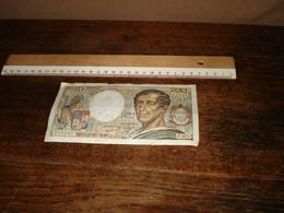 1 Bankbiljet  -- ( Ismo 27 ) - 200 F 1981-1994 ''Montesquieu''