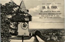 Graz/Steiermark - Graz,   Uhrturm Am Schlossberg - Graz