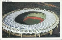 Stadion,Stadium,Le Stade,stade De Football,football Stadium. Olimpico - Roma / Italy - Stadiums