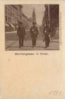 Graz/Steiermark - Graz,   Herrengasse 1898 - Graz