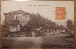 Carte Postale Noisy Le Grand Les Ivris (hôtel Restaurant Belles Voitures) - Noisy Le Grand