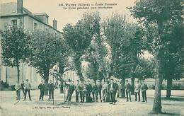 58 VARZY - Ecole Normale La Cour Pendant Une Récréation - Other Municipalities