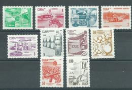 200037503  CUBA  YVERT   Nº  2336/2345  **/MNH - Nuevos