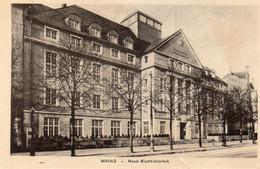 DC5151 - Ak Mainz Neue Stadtbibliothek - Mainz