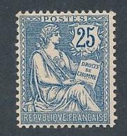 """DX-169: FRANCE: Lot Avec """"MOUCHON"""" N°127* (* Infime) - 1900-02 Mouchon"""