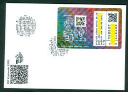 Croatia 2020 FDC Crypto 2nd Issue Stamp / Block Postal History - MOTIVE: Motor Motorcycle Bike - Kroatië