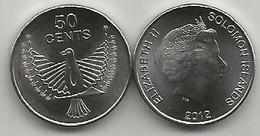 Solomon Islands 50 Cents 2012. High Grade - Solomon Islands